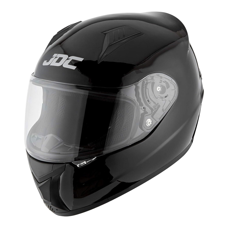 JDC Casco Integral Para Motocicleta Cascosintegrales Negro S PRISM