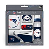 Baby Fanatic New England Patriots 5-piece Baby Gift Set, Team Colors, One Size