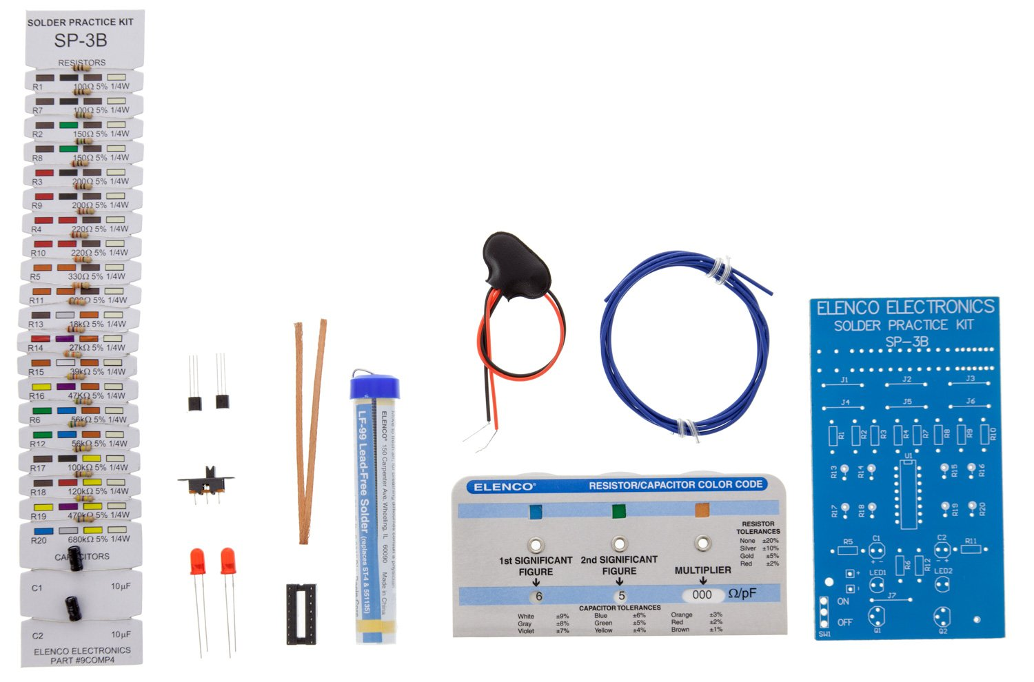 Practical Soldering Project Kit Industrial Scientific Electricity And Circuits Lessons Exercises Practice Tests