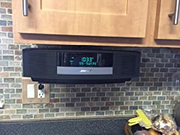 Under Kitchen Cabinet Mounted Stereo