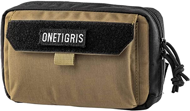 Amazon.com: OneTigris Horizontal EDC Bolsa Utilidad Molle ...