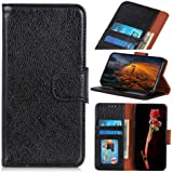 ORIbox iPhone Xs Max Wallet Case with Card Holder, PU Leather Flip Case with Kickstand and Magnetic Closure, TPU Shockproof I
