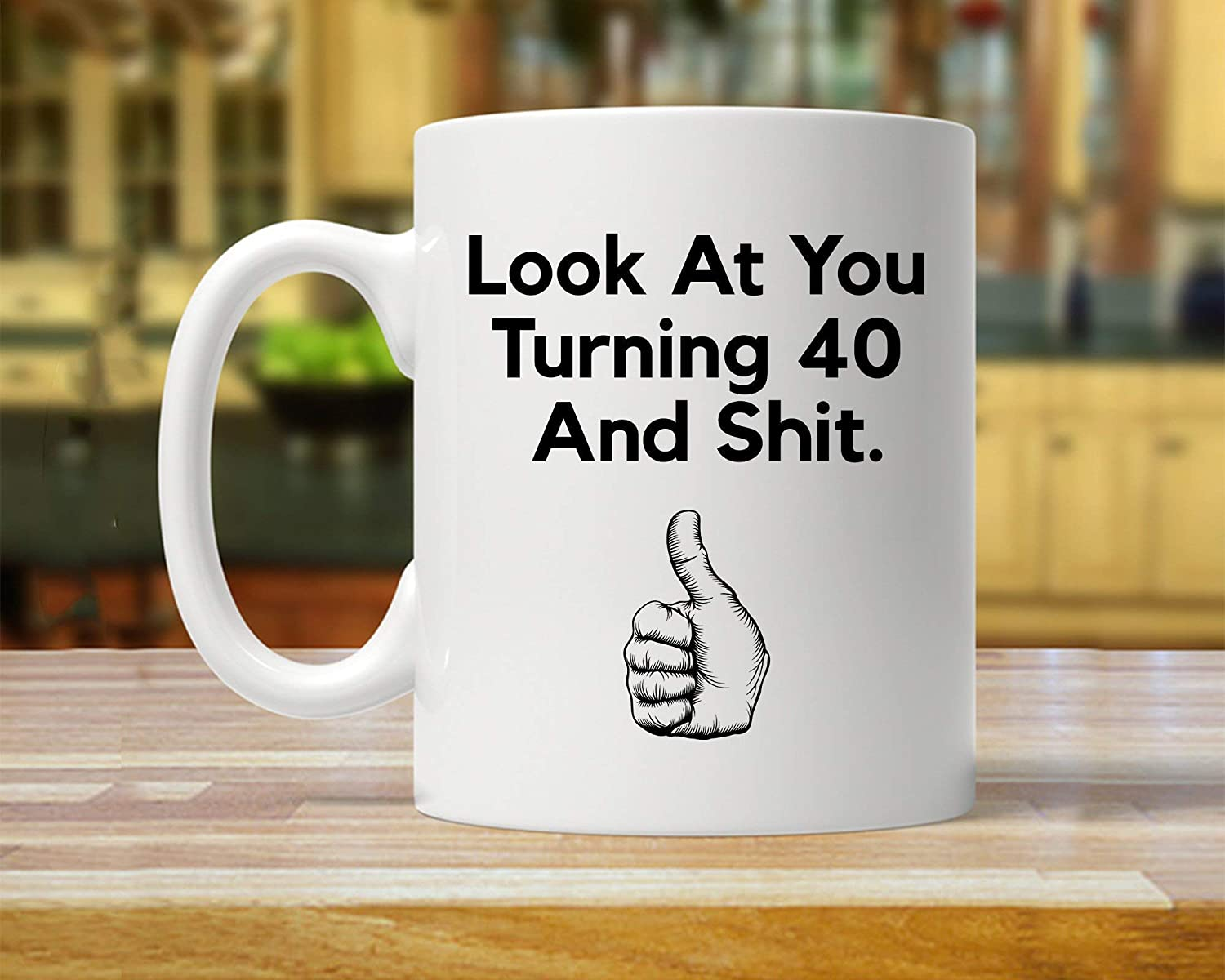 Gift For Forty Year Old 40Th Ideas Birthday Mug Fabulous Funny 40 Years Party MugsThanksgiving Day