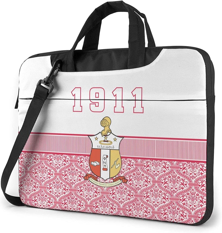 Ka-pp_a A_lp-ha Ps-i 1911 KAP Laptop Shoulder Bag Case Briefcase Handbag
