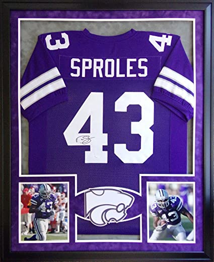 huge selection of e770d 5ed77 Darren Sproles Kansas State Wildcats Autograph Signed Custom ...