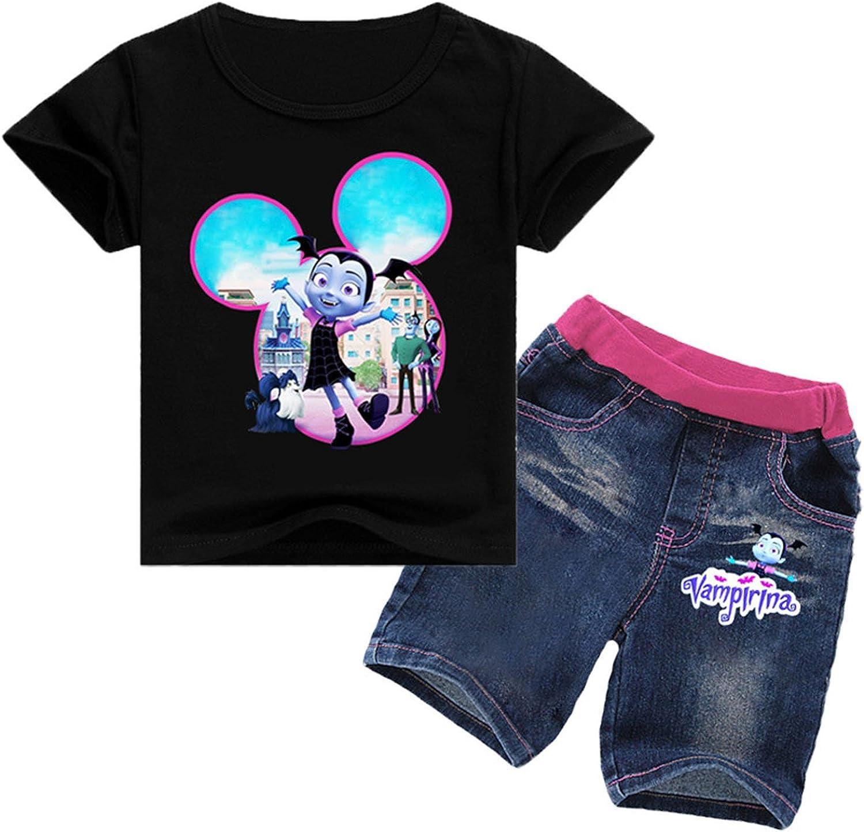 PCLOUD Girls Vampirina Hoodie and Trousers Suit