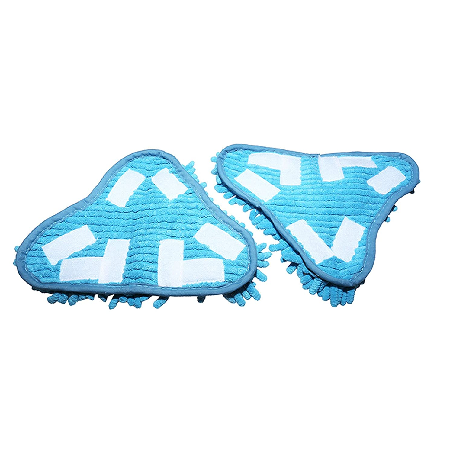 Twin Pack First4Spares Washable Microfibre Floor Pads for Thane H20 /& H20X5 Steam Mops
