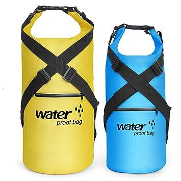 Resistente al agua seco bolsa mochila flotante – Bolsa de compresión para saco de dormir ligero