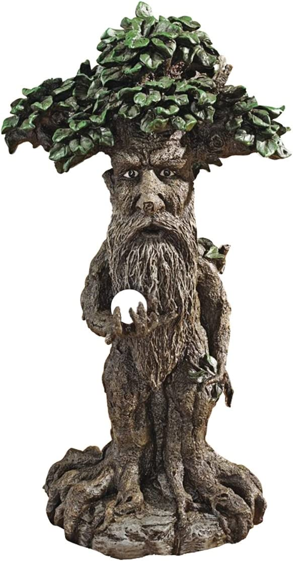 Design Toscano Treebeard Ent with Mystical Orb Statue