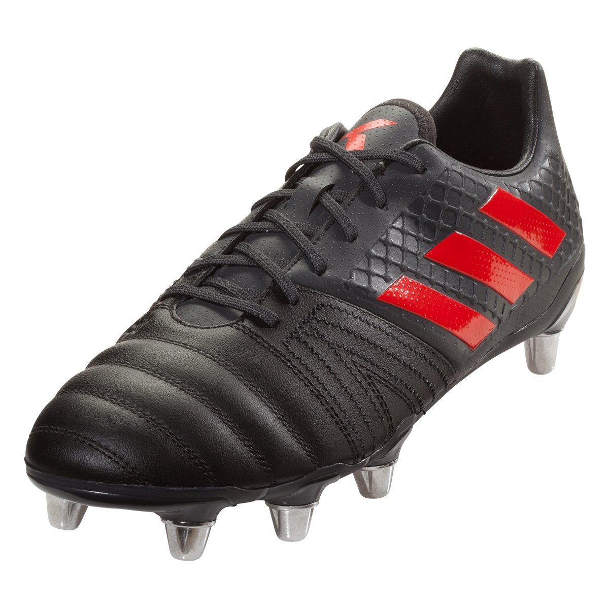 adidas Kakari Elite SG Rugby Boot, Black, US 10.5