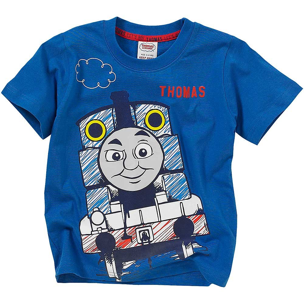 Thomas /& Friends Character Face Print Short Sleeve T-Shirt