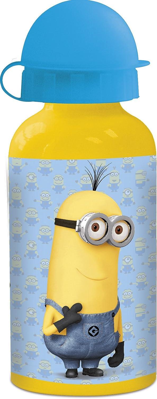 Minions, Gru Mi Villano Favorito Botella cantimplora de Aluminio 400ml Minions Despicable me 2 (STOR 76134)