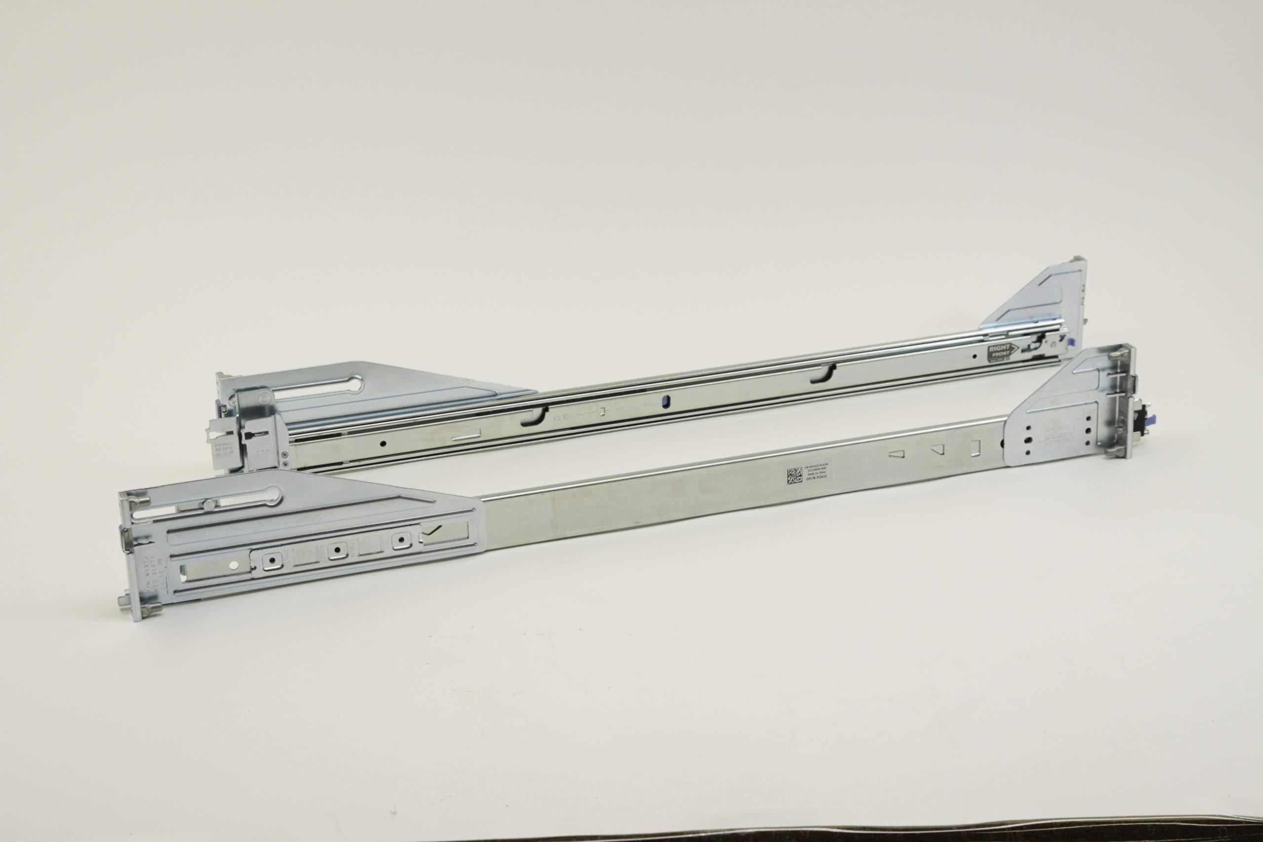 P188C New Dell PowerEdge R710 Server 2U Sliding Readyrail Kit P187C (Renewed) by Dell (Image #1)