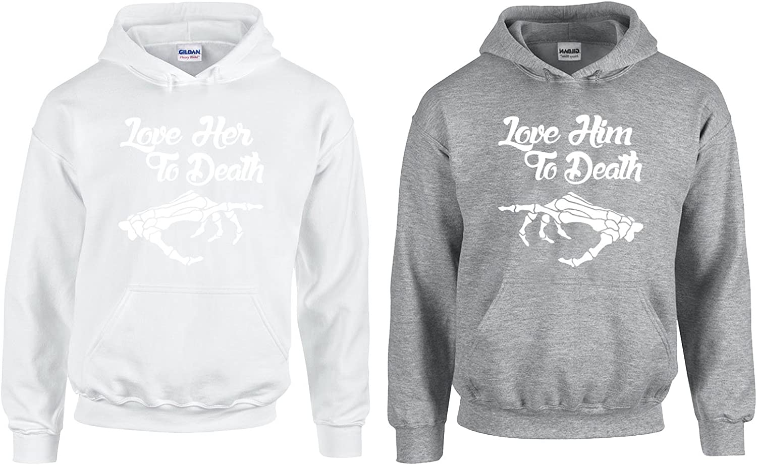 I Love Her//Him to Death Lovely Hoodie 2