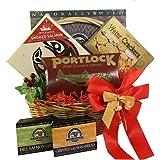 Smoked Salmon Seafood Lovers Red Gourmet Food Gift Basket