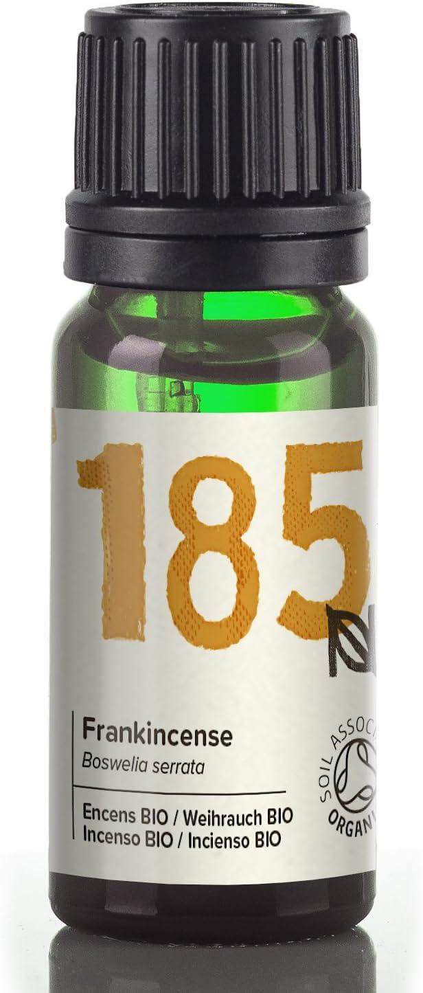 Naissance Aceite Esencial de Incienso BIO 10ml - 100% puro, certificado ecológico, vegano y no OGM