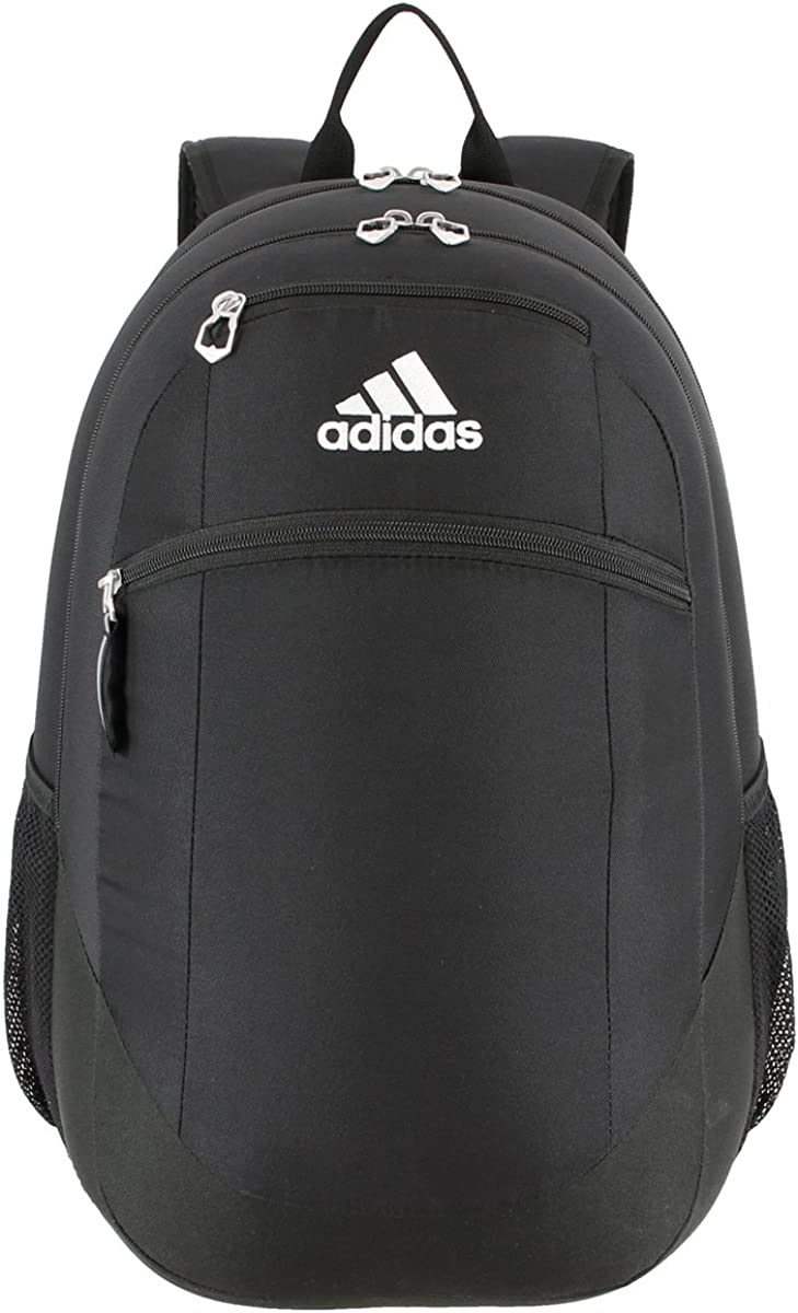 adidas Unisex Striker II Team Backpack, Black/White, ONE SIZE: Clothing