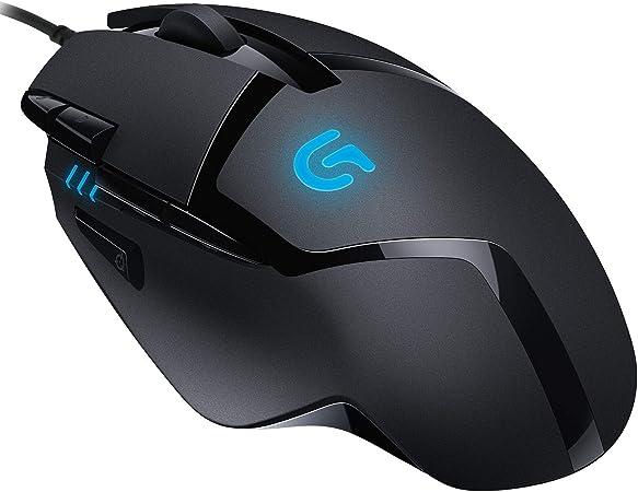 Logitech G402 Hyperion Fury Gaming Maus Mit 4k Dpi Computer Zubehör
