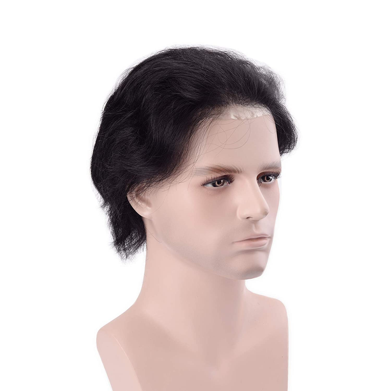 lordhair Cabello humano Stock Mens Hair Pieces: Amazon.es ...