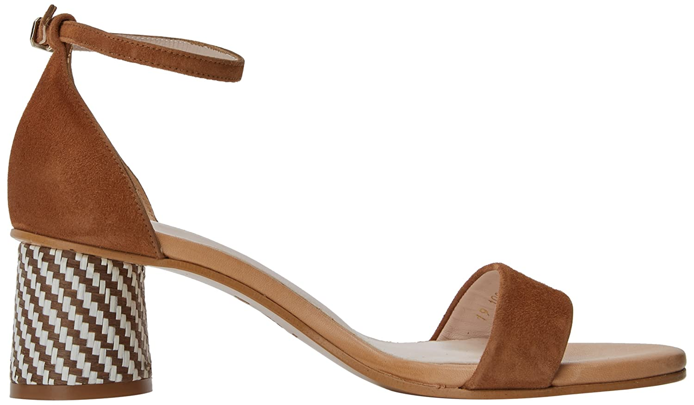Womens Duo Open Toe Sandals, Multicolour (Ante Avellana-Soft Desert Avellana), 4 UK Lodi