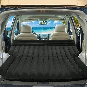 Costway - Colchón hinchable de coche, cama hinchable para ...
