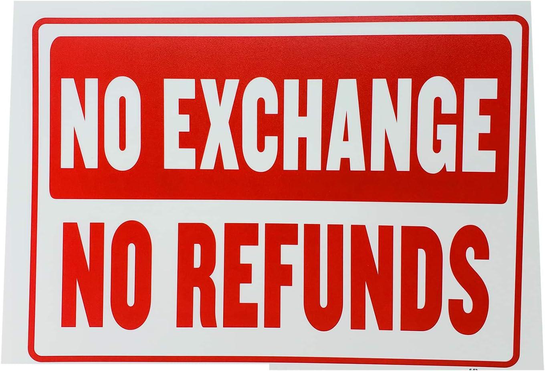 Amazon.com: Señal de política de tienda de comercio no ...