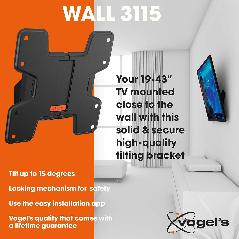 Vogels WALL 3115, Soporte de pared para TV 19: Vogels: Amazon.es ...