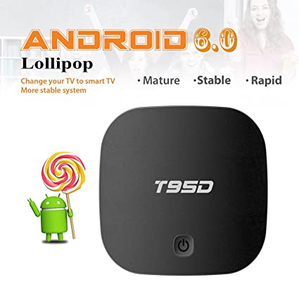 Android TV Box - [Newest Version] TopYart 2018 Model Smart TV Box 2GB+16GB  Supporting 4K (60Hz) Full HD/H 265/2 4G WiFi/HD 2 0 100M LAN HDMI Set Top