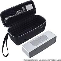 ECO-FUSED Tragetasche für Bose Soundlink Mini 1 und 2 - Schutz und Transport - Luftgepolsterte Innenausstattung für Lautsprecher und Dock - Mesh-Tasche - Trageschlaufe