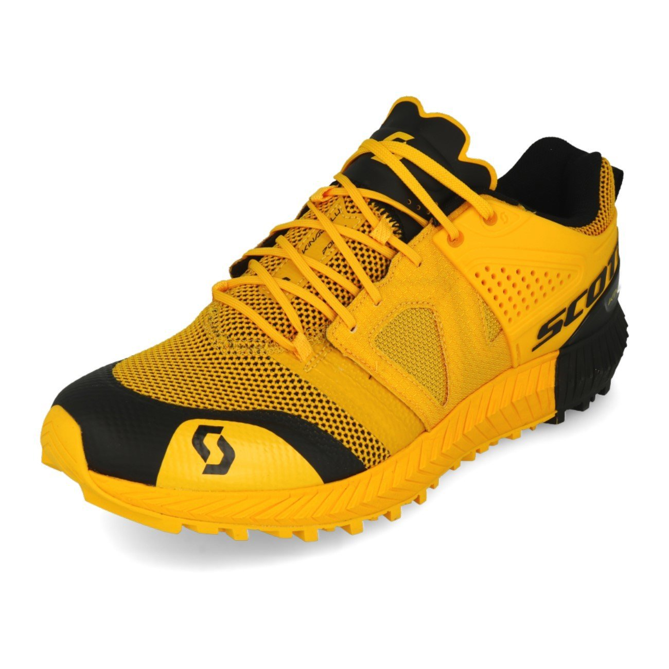 Scott - Zapatillas de Running de Tela, sintético para Hombre Amarillo Yellow Black, Color Amarillo, Talla 42 EU 42 EU|Yellow Black