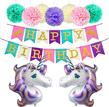 Amazon.com: Globos de fiesta de cumpleaños decoraciones ...
