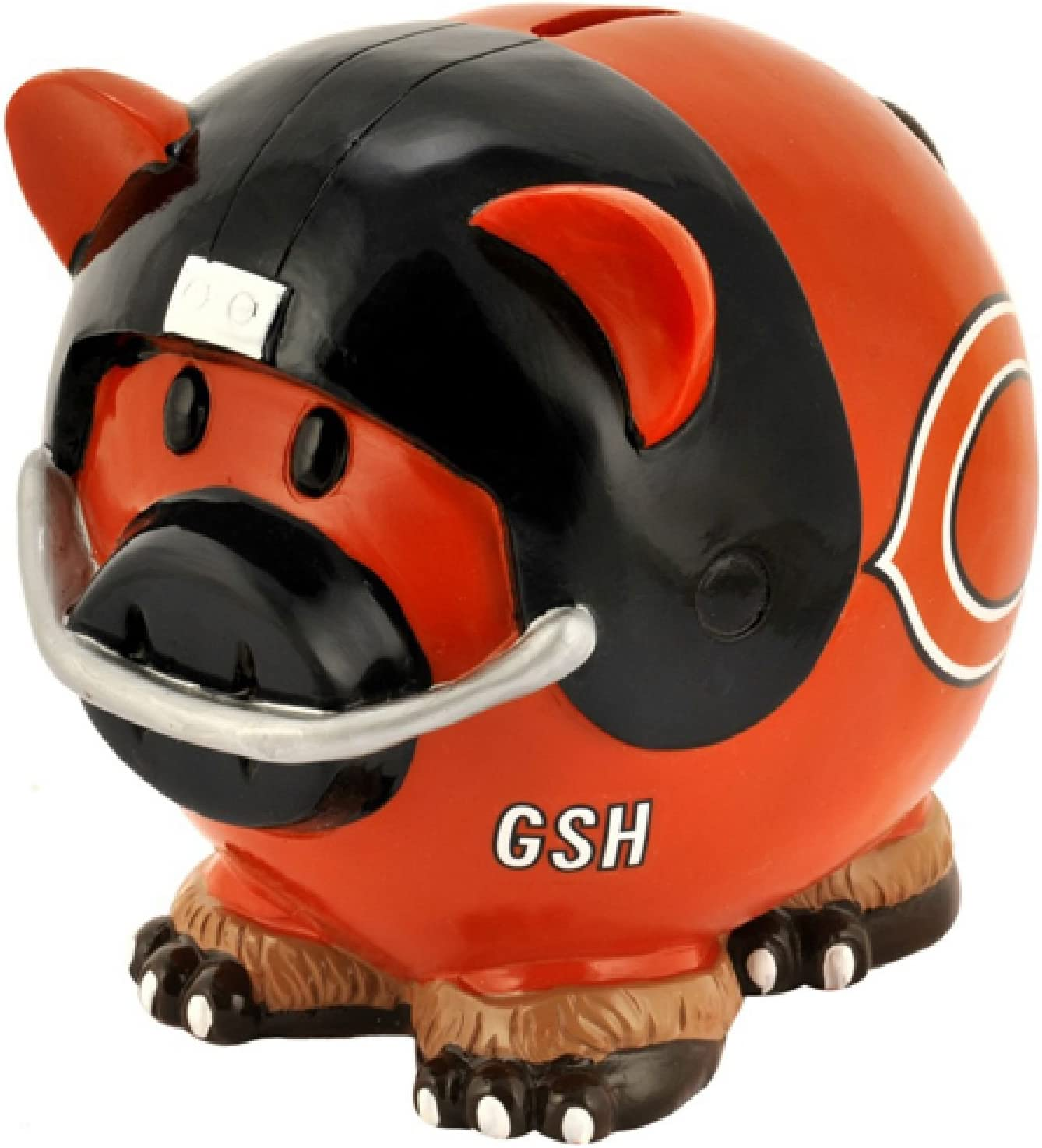 Chicago Bears Resin Small Thematic Piggy Bank