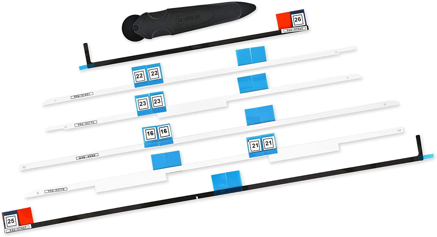 iFixit Adhesive Strips Compatible with iMac Intel 27