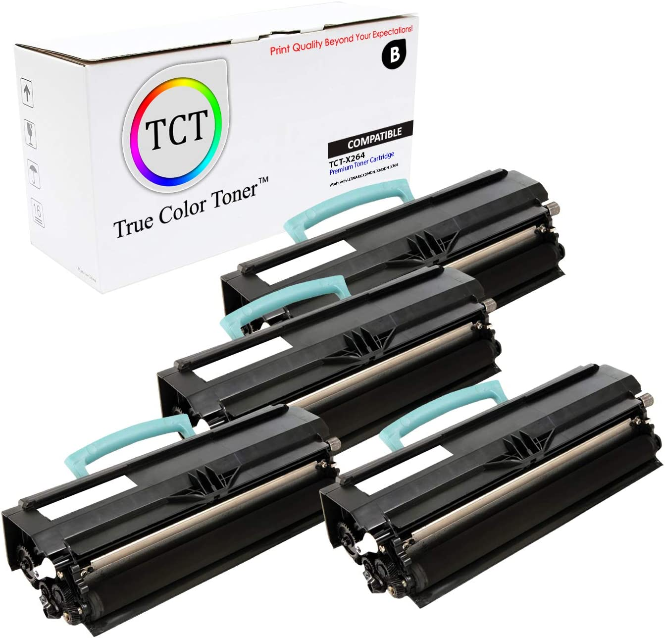 Black 3500 Pages at 5/% Coverage Lexmark Toner Cartridge