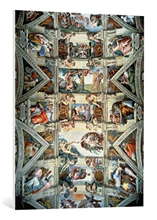 Kunst Fur Alle Leinwandbild Michelangelo Buonarroti Sistine