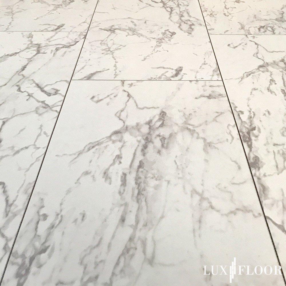 Marmor Dekor D2921 Hochglanz Laminat 8mm FALQUON Carrara Marble 1,996m/²