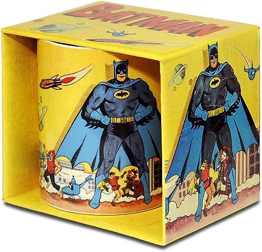 Logoshirt Batman Taza de Cafe - DC Comics Taza - Diseño Original con Licencia: Amazon.es: Hogar
