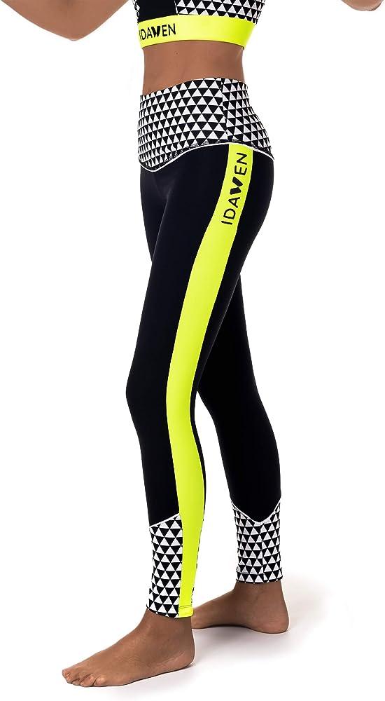 IDAWEN Sport Fashion Leggings de deporte. Mallas deportivas con ...