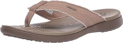 Crocs Men's Santa Cruz Canvas Flip Flop
