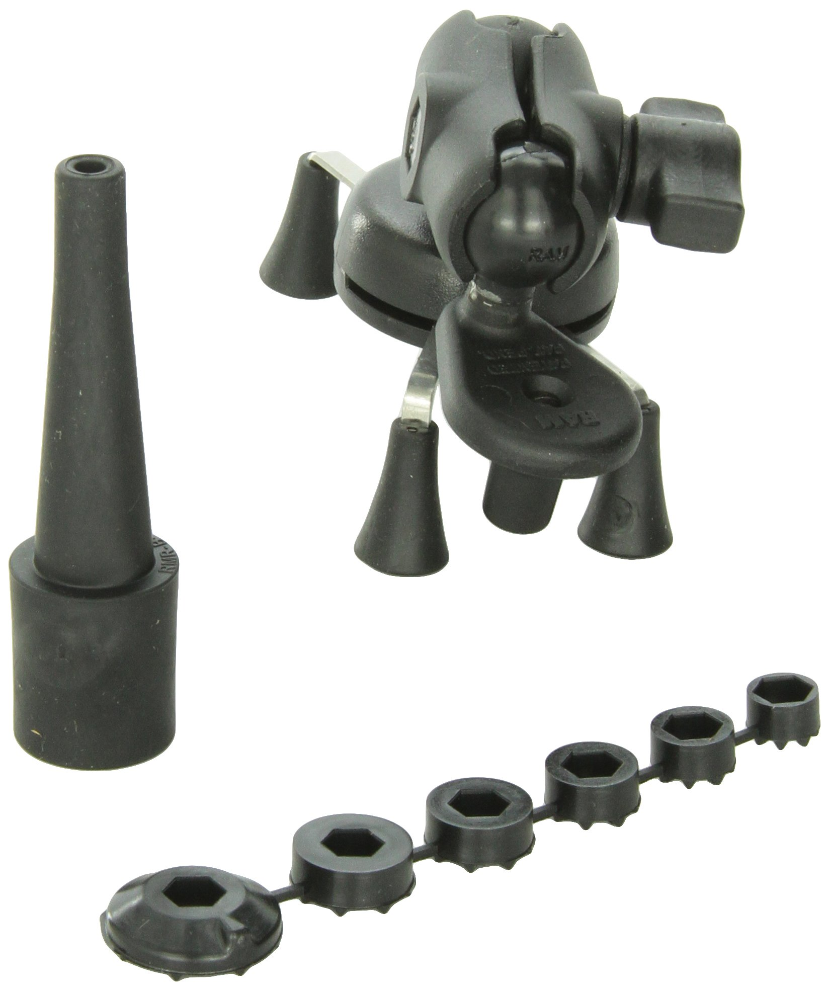 RAM MOUNTS (RAM-B-176-A-UN7U Fork Stem Mount with Short Double Socket Arm and Universal X-Grip Cell/Iphone Holder