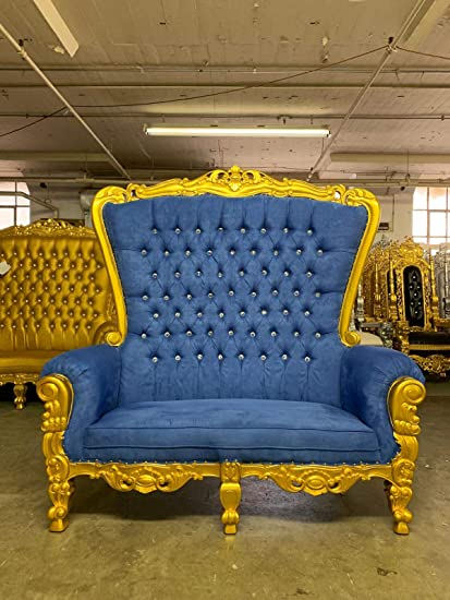Remarkable Amazon Com Tiffany Queen Royal Party Loveseat Throne Chair Dailytribune Chair Design For Home Dailytribuneorg
