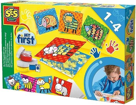Mis primeras tarjetas con pinturas de dedos , color/modelo surtido: Amazon.es: Juguetes y juegos