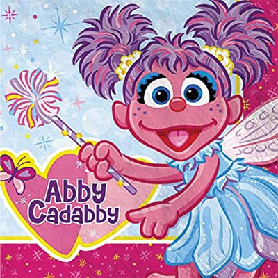 Abby Cadabby Lunch Napkins (16ct): Toys & Games