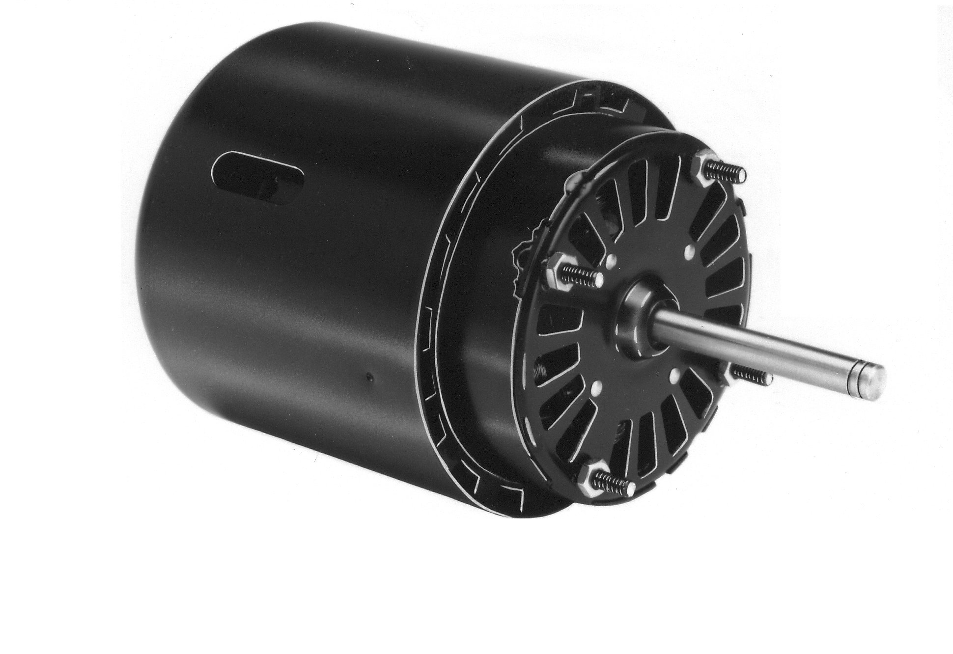 Fasco D475 3.3'' Frame Open Ventilated Shaded Pole Refrigeration Fan Motor withSleeve Bearing, 1/15HP, 1550rpm, 460V, 60Hz, 0.5 amps by Fasco