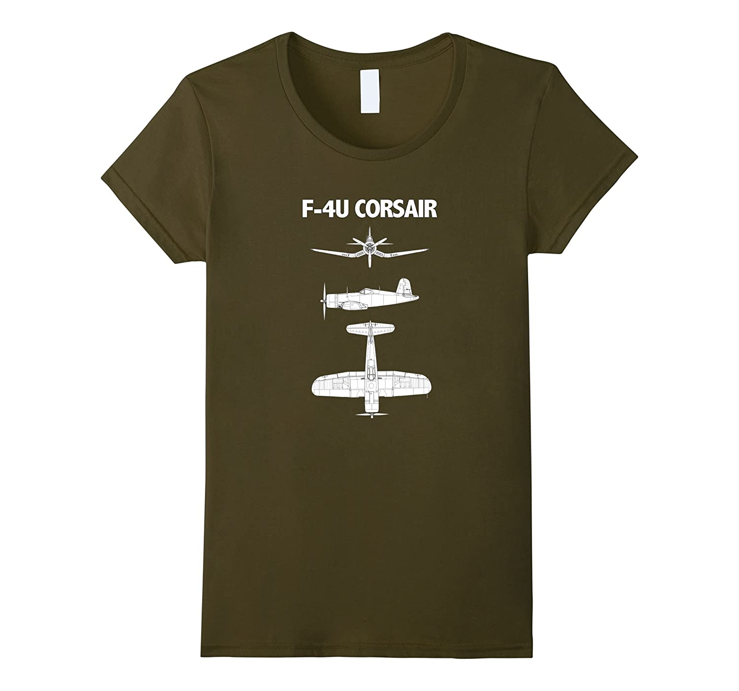 F-4U Corsair WWII Aircraft T Shirt