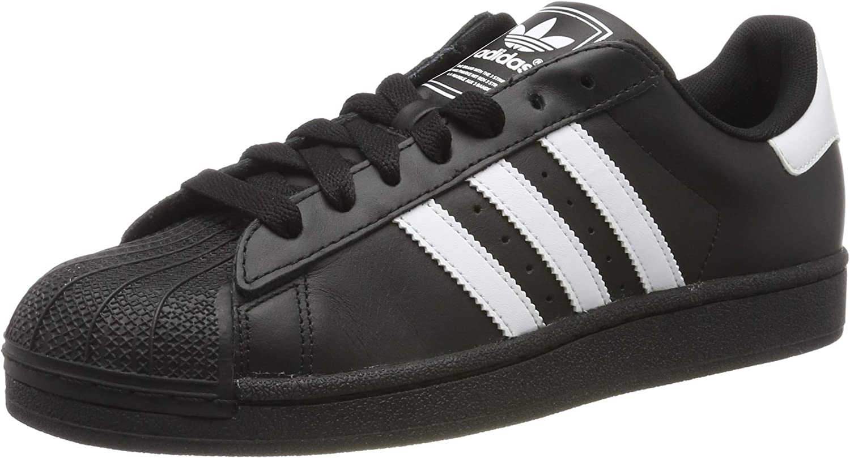 adidas Originals Men's Superstar Shoe Running White/Black, 11.5 D(M) US