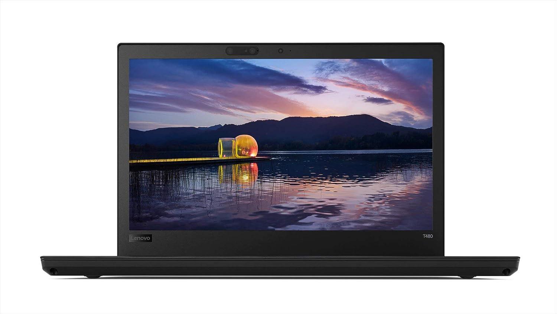 """Lenovo ThinkPad T480 Business Laptop: Core i5-8250U Processor, 512GB SSD, 14"""" Full HD IPS Display, 8GB RAM"""