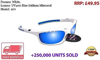 RayZor - Gafas de sol profesionales y unisex para ciclismoEstas gafas para ciclismo tienen un diseño ligera para poder practicar deporte.Estas gafas ...