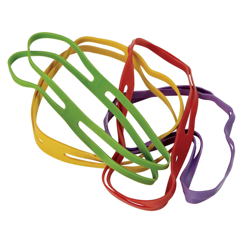 100/g Assorted Colours 80/x 11/mm Alco-Albert 2765//1/Cross Bands