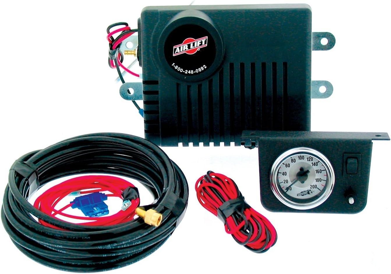 jeep air suspension wiring harness diagram amazon com air lift 25804 air shock controller kit automotive  air lift 25804 air shock controller kit